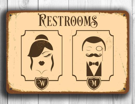 poți să cunoști un om după mersul la toaletă
