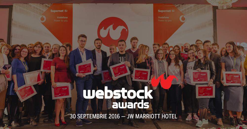 premiile webstock 2016