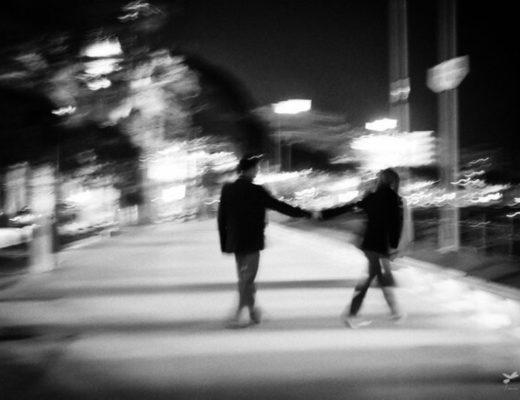 couple faded